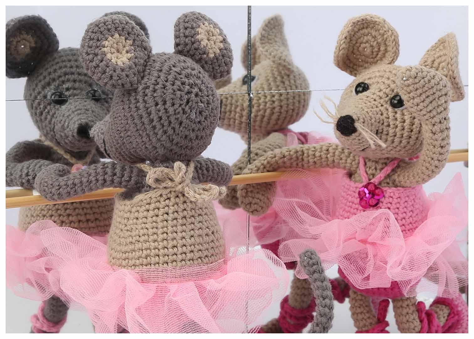 Ravelry: Ballerina-Mouse pattern by Mari-Liis Lille | 1080x1512
