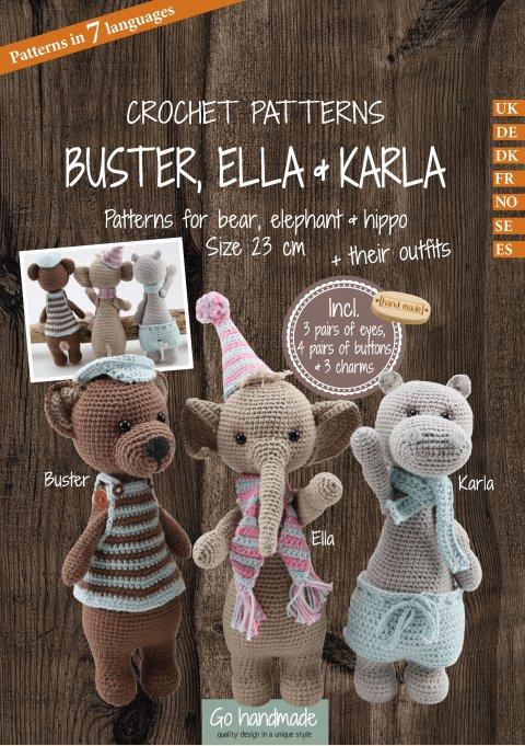 Buster, Ella & Karla