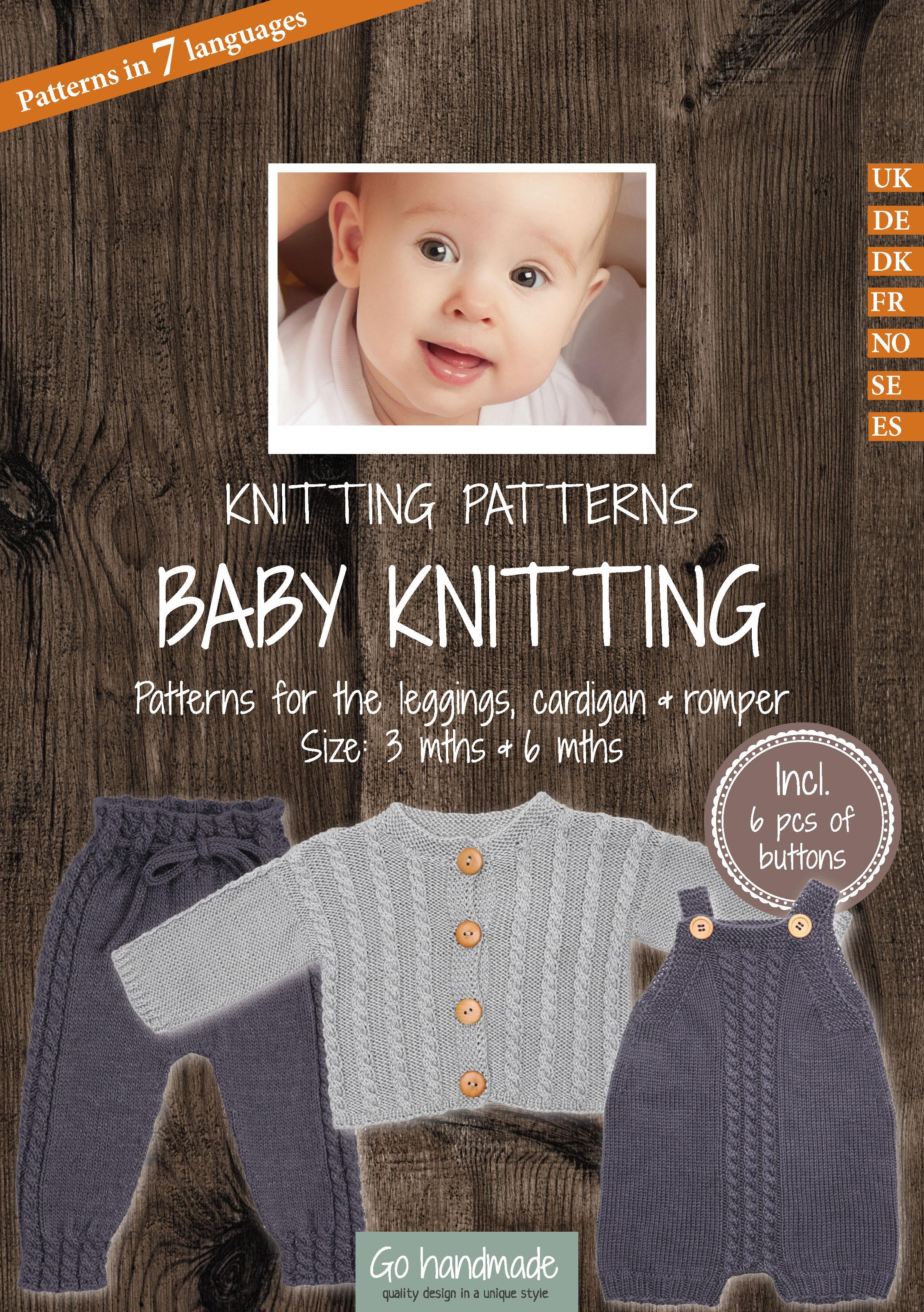 Pattern Pack Leggings Cardigan Romper Tencelbamboo Baby