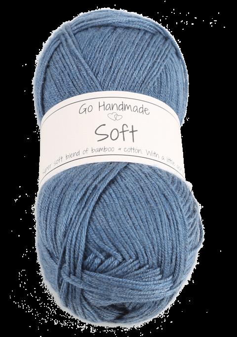 Soft - Petrol blå