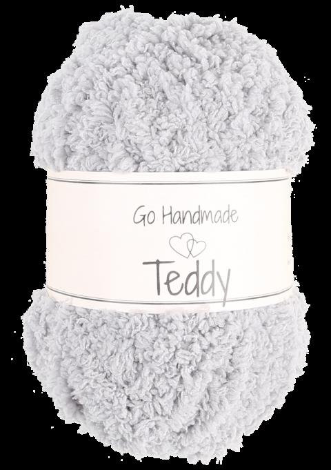 Teddy - Lysegrå