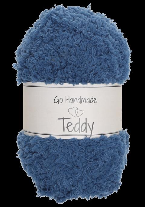 Teddy - Petrol blå