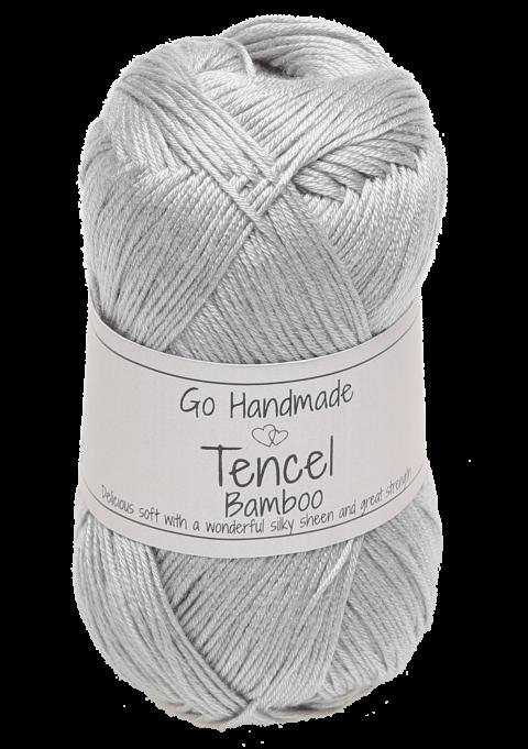 Tencel/Bamboo - Lysegrå