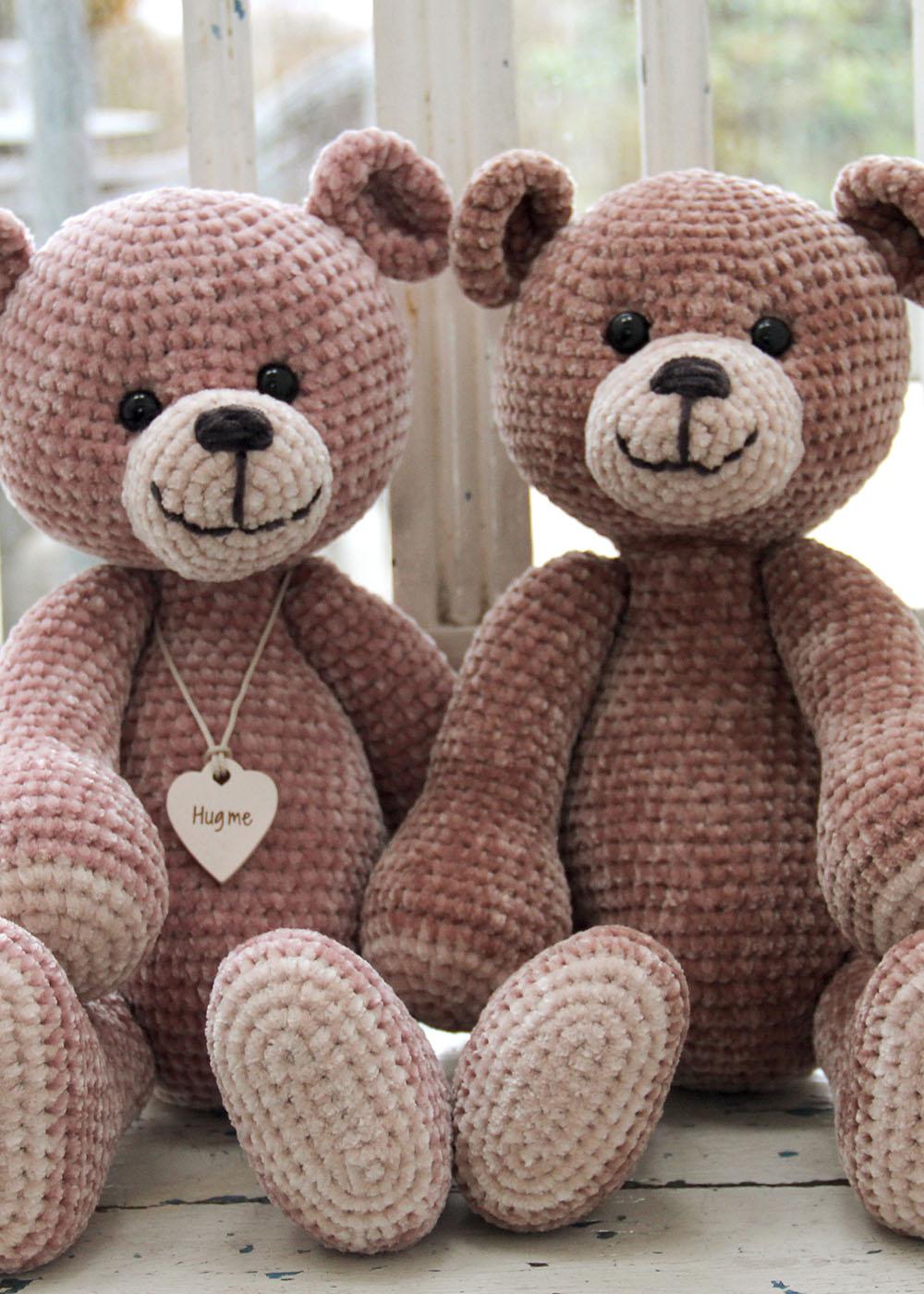 20+ Free Crochet Teddy Bear Patterns ⋆ Crochet Kingdom | 1400x1000