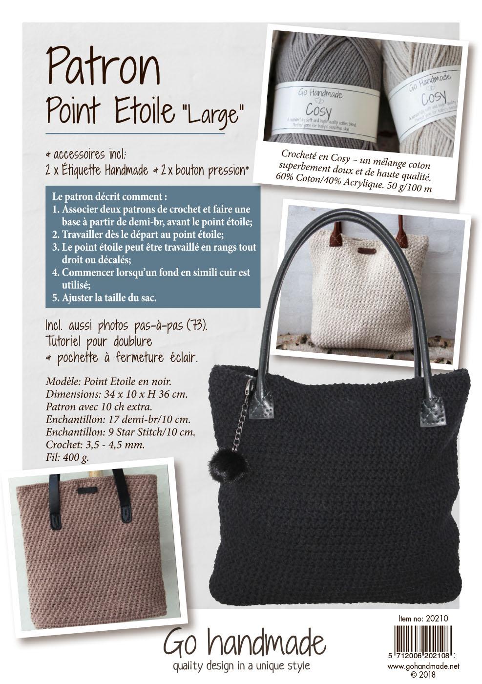 Pattern Pack Star Stitch Big French
