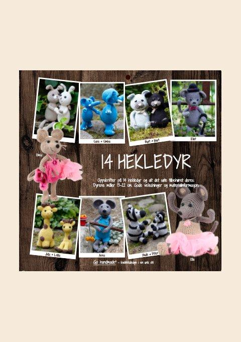 14 HÆKLEDE DYR - NO