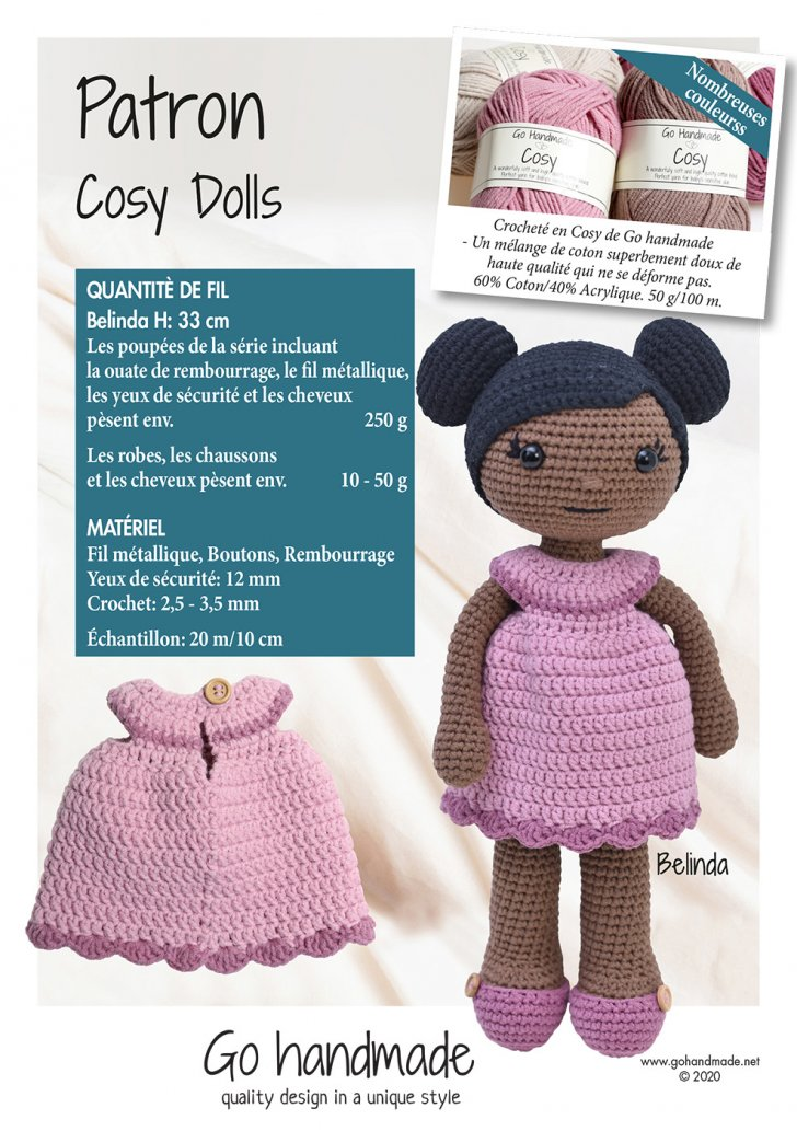 Cosy dolls - Belinda - FR