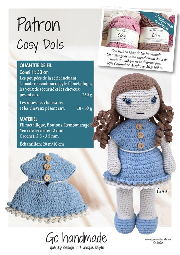 Cosy dolls - Conni - FR
