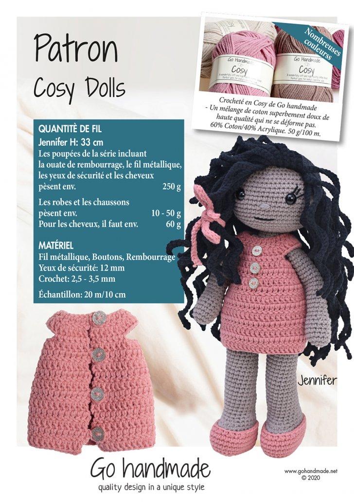 Cosy dolls - Jennifer - FR