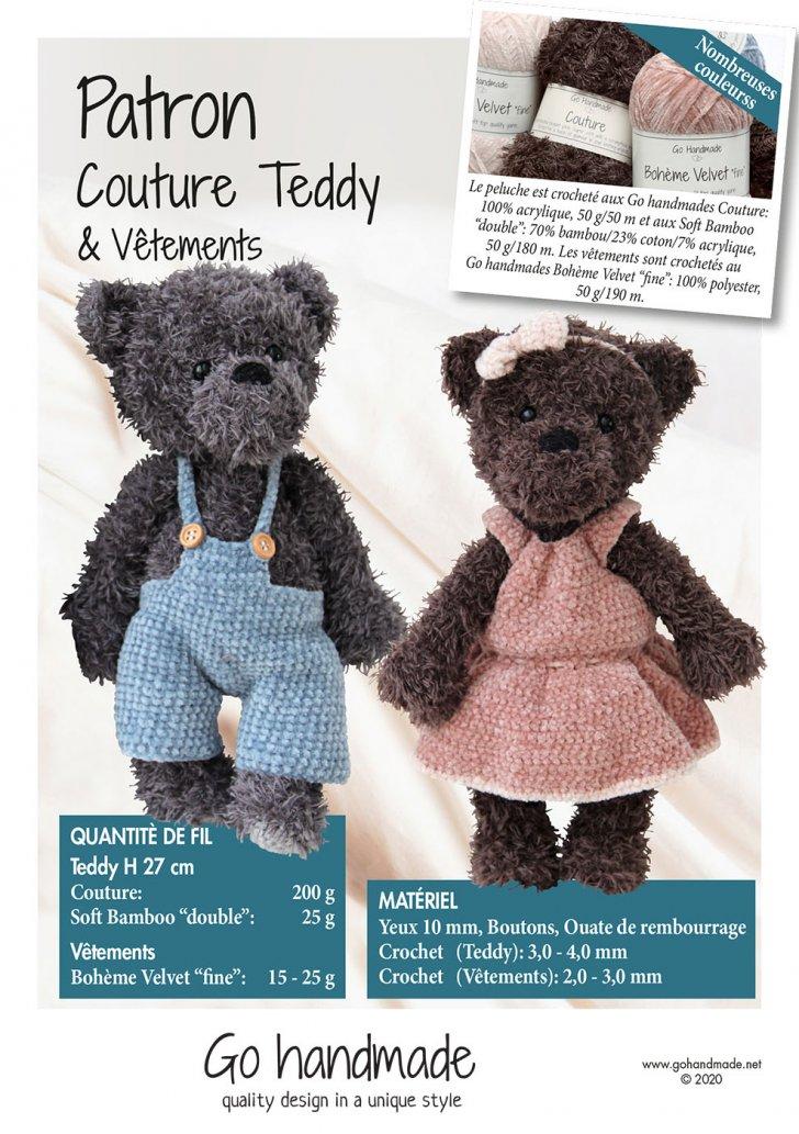 Teddy & Clothes - Girl & Boy - FR