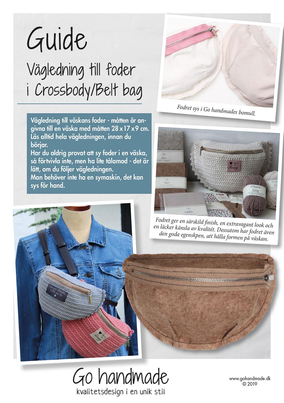 Sy guide til foer SE Tasker Go Handmade