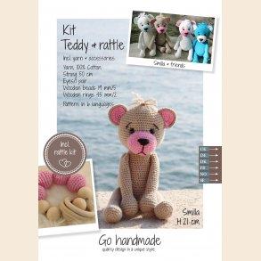 Teddy & rattle